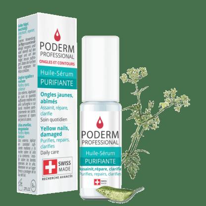 Traitement mycose de l'ongle Poderm, produit purifiant