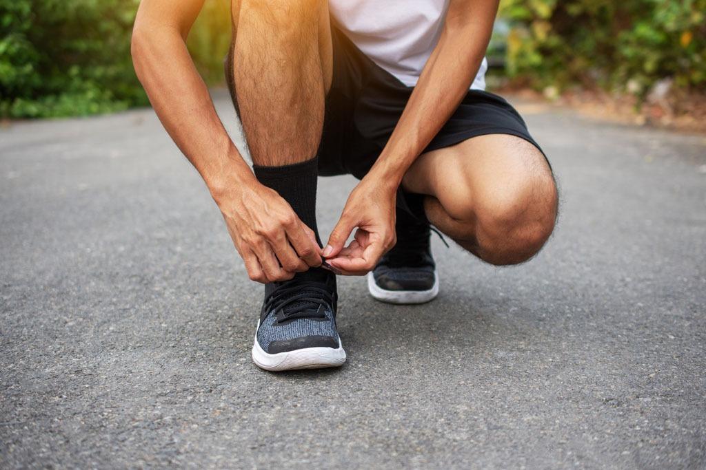 Fuss - oder nagelprobleme nach dem training?