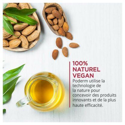 Formel mit natürlichen Inhaltsstoffen (ätherische Öle), zu 100% biologisch und vegan