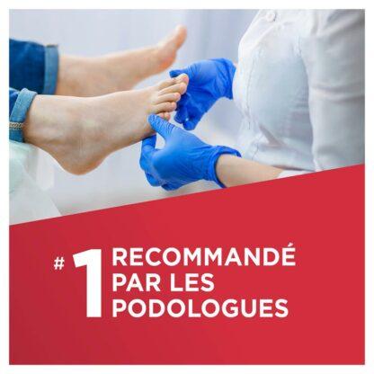 recommandé par les podologues