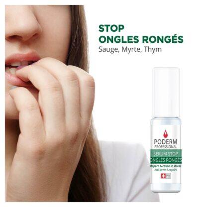 traitement pour ne plus se ronger les ongles : stop ongles rongés Poderm