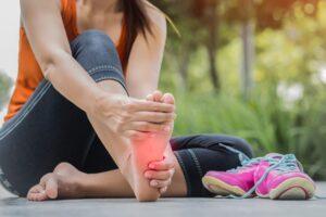 pied d'athlète mycose